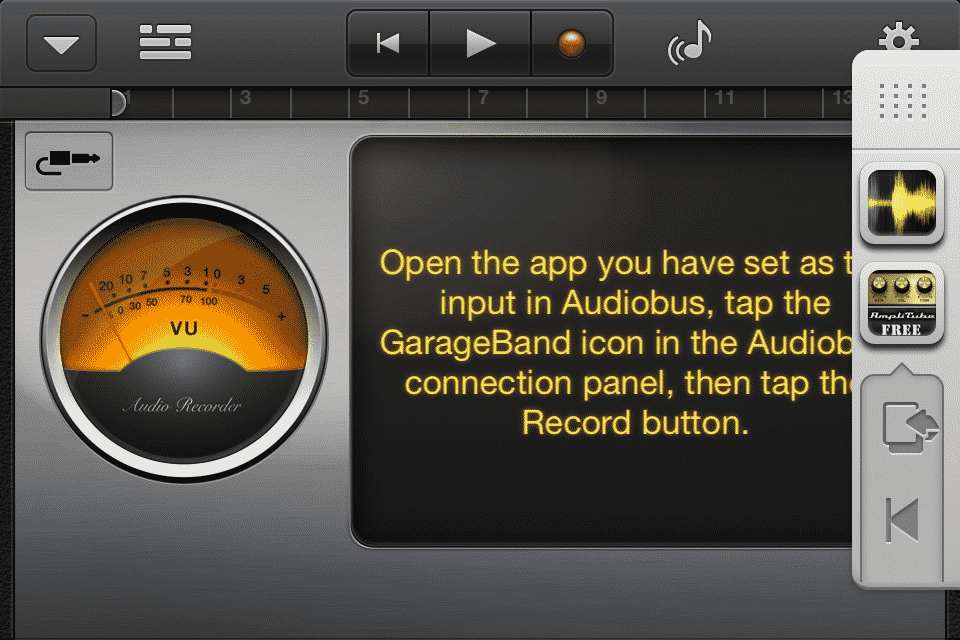 Garageband Audiobus 5