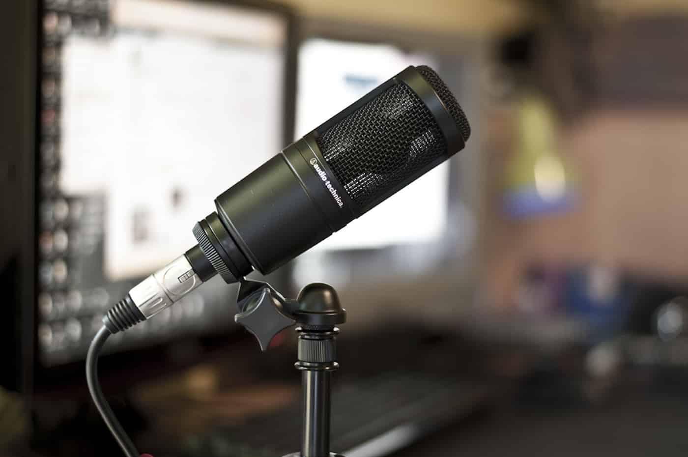 audio technica at2020 garageband review